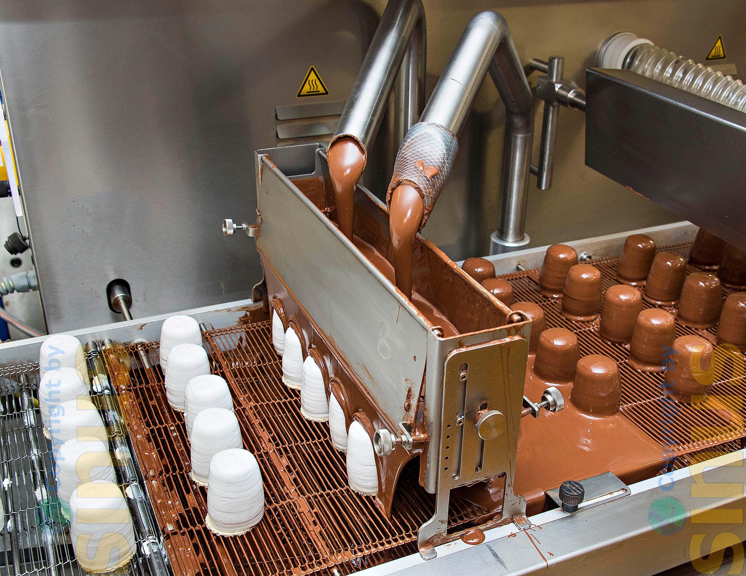 Mohrenkopf-Produktion
